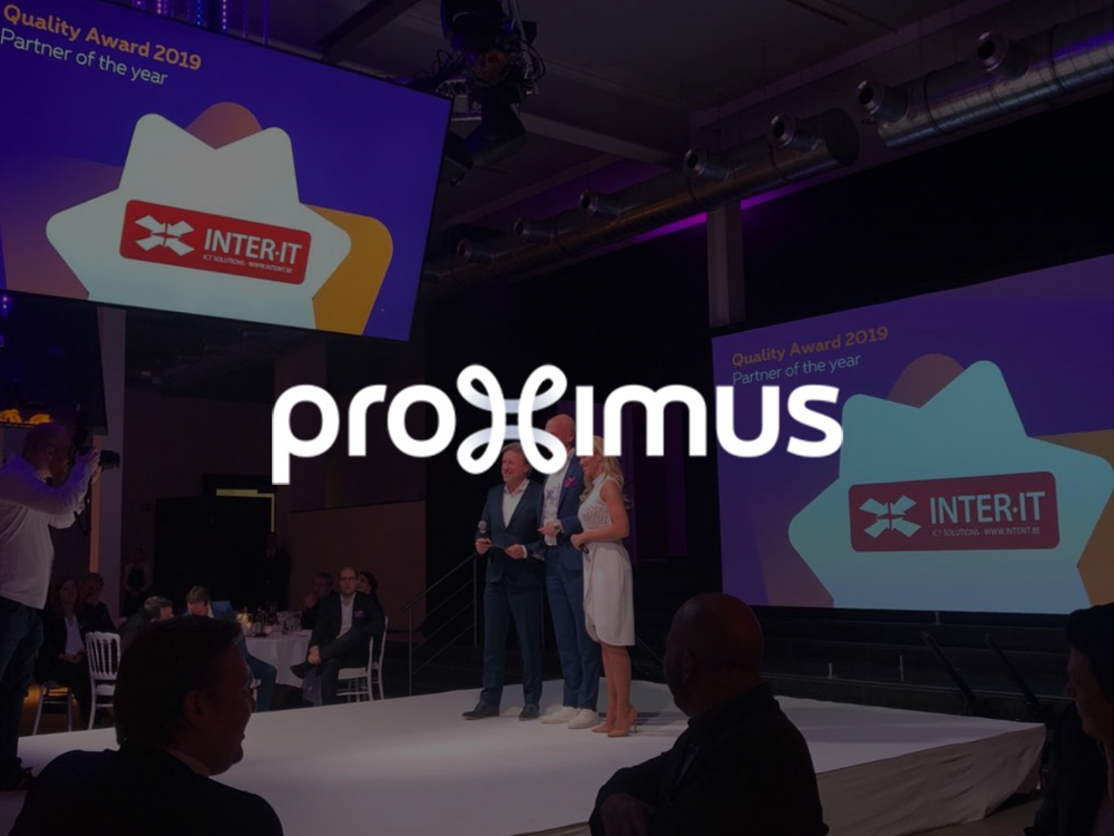 Proximus Enterprise Partner Awards 2019